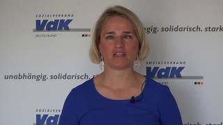 Video: Video-Statement von VdK-Präsidentin Verena Bentele