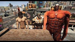 GTA 5 - Attack on titan - Eren trở thành titan như thế nào   GHTG