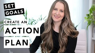 How to Set Goals & Create an Action Plan! (Step-by-Step Tutorial)