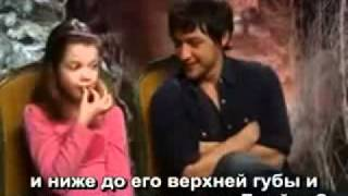 Джорджи Хенли, Chronicles of Narnia, Interview - русские субтитры!