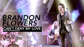 Brandon Flowers - Hellow Festival 2015 - Can't Deny My Love
