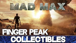 Mad Max | Finger Peak Camp All Collectibles Guide (History Relic/Insignia/Scrap/Survey Crew Parts)