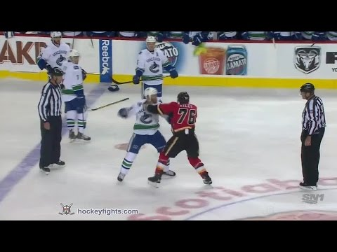 Blair Riley vs. Brandon Prust