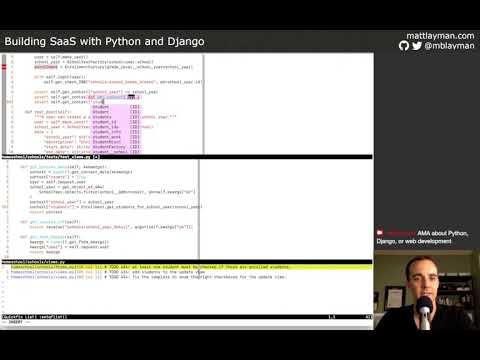 Finish School Break Filtering - Building SaaS with Python and Django #115 thumbnail