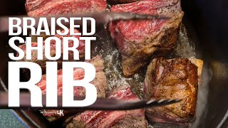 The Best Braised Short Ribs | SAM THE COOKING GUY 4K