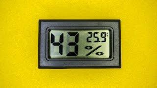 🌡Посылка с AliExpress: Компактный гигрометр с термометром