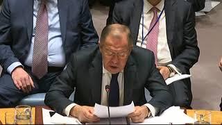 Выступление С.В.Лаврова на СБ ООН по нераспространению