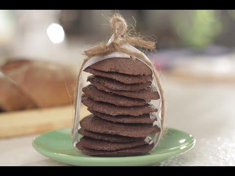 Chocolate And Bread Cookies   Sanjeev Kapoor Khazana