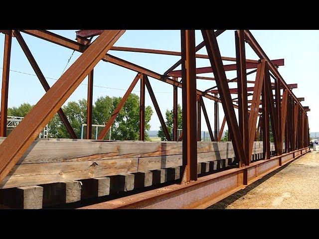 В Мегете ремонтируют автомобильный мост