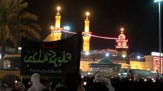 preview picture of video '03-Dec-2011 Karbala - Children of Ahlulbayt A.S. - Shabeeh and Manazer near Bainul Haramain'