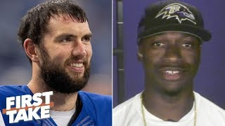 Robert Griffin III: Colts fans will regret booing Andrew Luck | First Take
