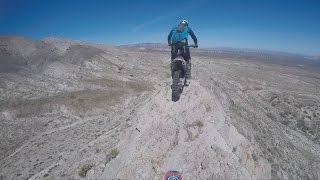 DON'T LOOK DOWN!!! GNARLY EXTREME ENDURO ERZBERG TRAINING!!!(ft. COLTON HAAKER/REDMOND)