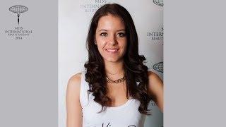Gábor Ingrid Miss Hungary International 2014 Contestant Presentation Video