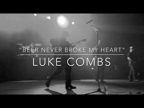 Luke Combs - Beer Never Broke My Heart - IDaddyBanks