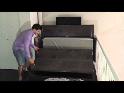 Denva cabinet bed review video