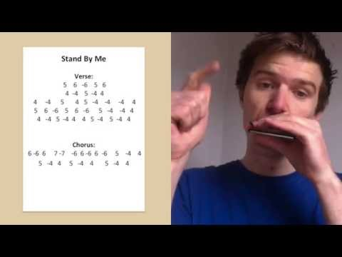 stand by me harmonica lesson saturday song study 5