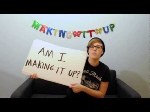 "ALLISON WEISS // ""Making it Up"" (Lyric Video)"