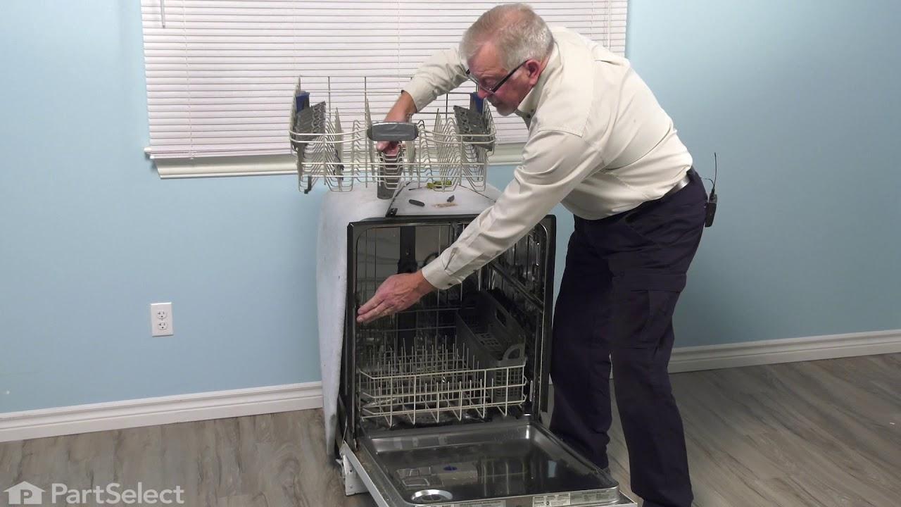 Replacing your KitchenAid Dishwasher Manifold