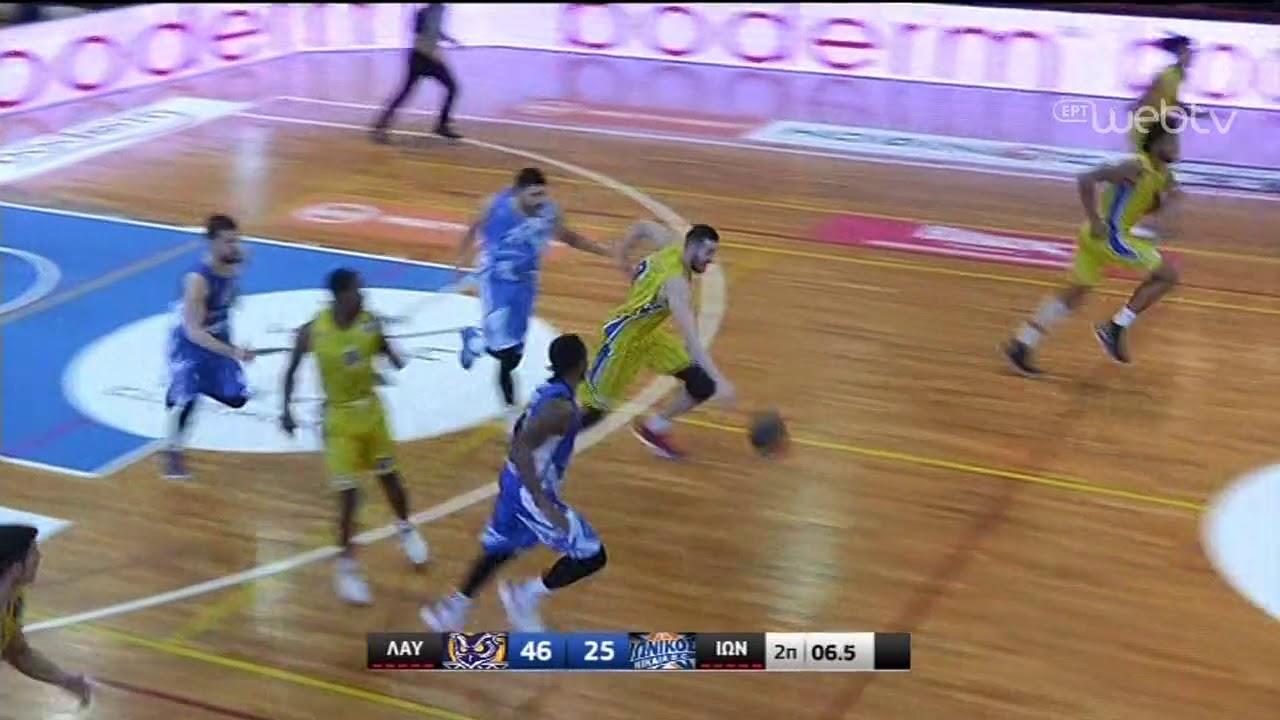 Basket League 2019-2020: ΛΑΥΡΙΟ – ΙΩΝΙΚΟΣ | HIGHLIGHTS | 04/01/2020 | ΕΡΤ