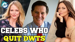 Stars who left Dancing with the Stars | Tom Delay, Sara Evans & more