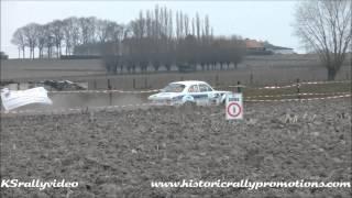 preview picture of video 'Kurt Vanderspinnen @ TAC Rally Tielt 2013 [HD]'