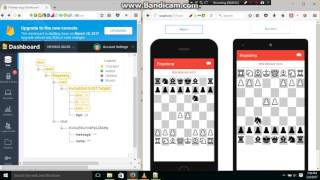 Chess online multiplayer with chat using Framework7 & Firebase