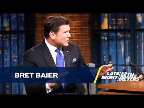 Bret Baier on Donald Trump's Media Relationship and Twitter Distractions