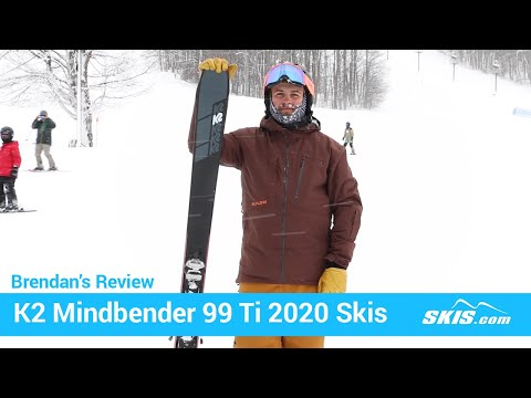 Video: K2 Mindbender 99 TI Skis 2020 3 50
