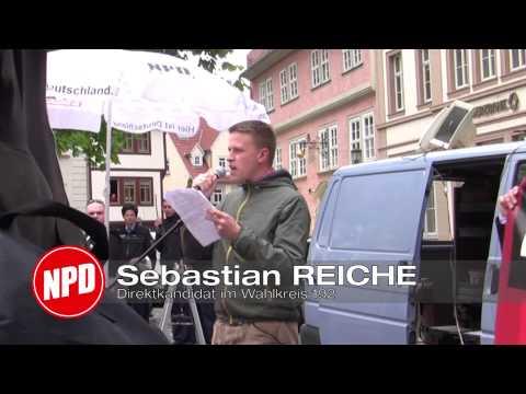 Kundgebungstour zur Bundestagswahl 2013 in Gotha