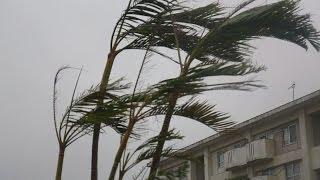 台風8号特別警報宮古島に接近沖縄本島も暴風域