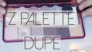 Z Palette DUPE + How To Depot Eyeshadows