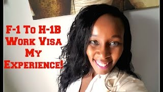 Advice Transitioning from the F1 Student Visa to H1-B Work Visa thumbnail image