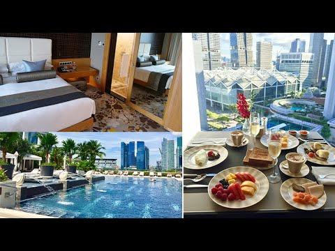 Marina-Bay Club-Suite – Hotel Room Review – Mandarin Oriental, Singapore, Room 1901