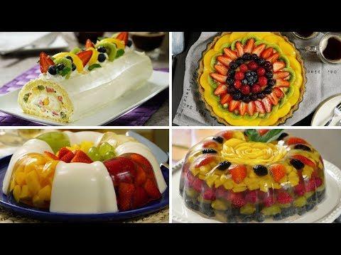 Postres de frutas