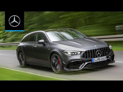 Mercedes Benz Cla Class Shooting Brake Универсал класса C - рекламное видео 3