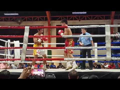 Devastating knockout win by Carl Jammes Martin against Benezer Alolod