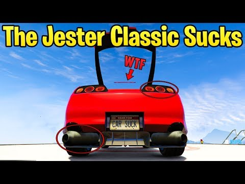 10 Reasons Why The Jester Classic Is A Horrible Car In GTA Online