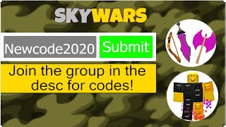 Roblox Skywars All Codes | New Codes Hallowen