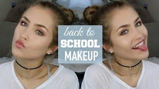 BACK TO SCHOOL MAKEUP TUTORIAL! GLOWY + FRESH | Mel Joy - Video Youtube
