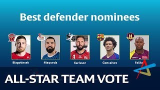 All-star Team | Defender | VELUX EHF Champions League 2018/19
