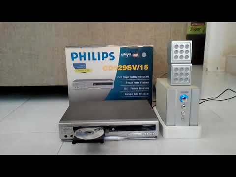 Test VCD CD MP3 Player Philips