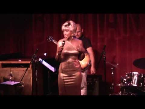 Cynthia Holiday Song Stylist at Birdland Jazz Club
