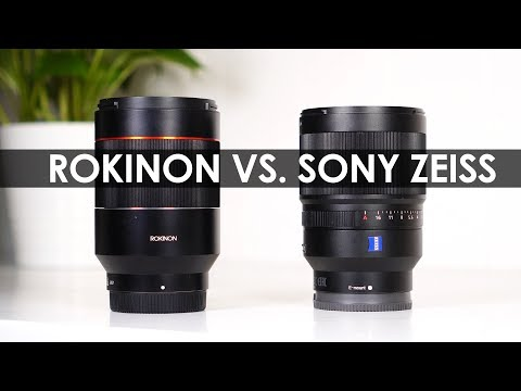 Rokinon VS. Sony Zeiss? — Rokinon AF 35mm f/1.4 Sony Lens Autofocus Review