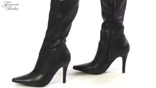 Over The Knee Boots With Different Outfits - Model 111
