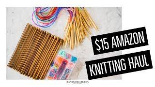 $15 Amazon Knitting Needle Kit Unboxing | Exquiss Knitting Needle Haul