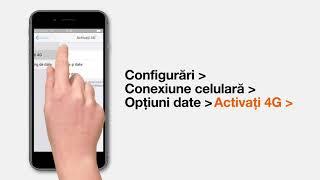 Cum activez datele mobile pe iPhone?