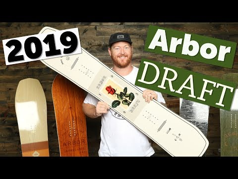 2019 Arbor Draft Snowboard Review
