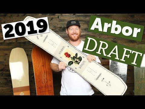 2019 Arbor Draft Snowboard Review