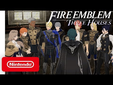 Fire Emblem: Three Houses - Welcome to the Blue Lion House - Nintendo Switch thumbnail