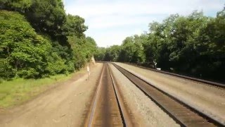 Amtrak #43 over the horse shoe curve